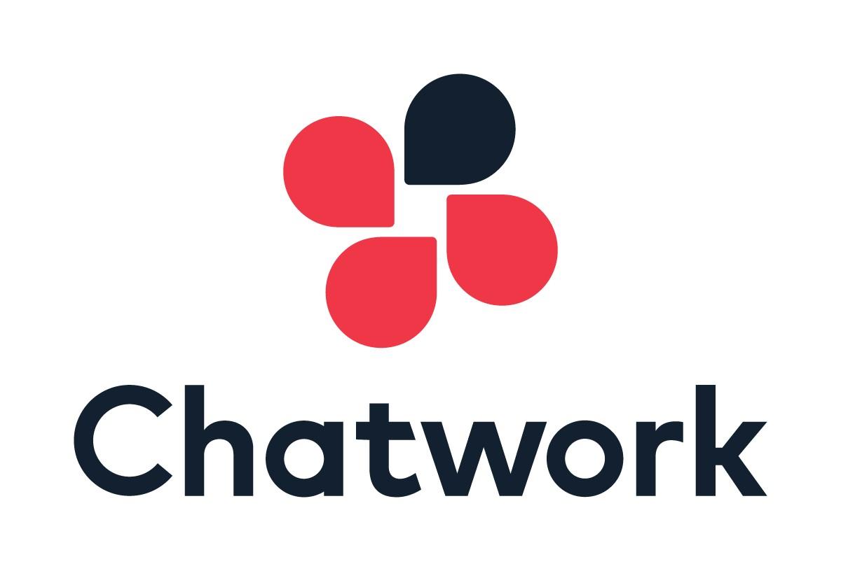 日本発のチャットツール「ChatWork」の使い方を解説した記事のアイキャッチ画像です。