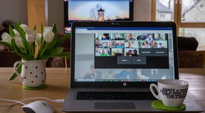 Webメーティングに便利なツールZoomについて解説した記事中のイメージ画像です。